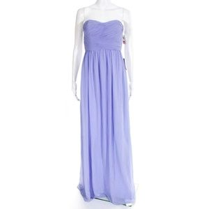 New Donna Morgan Lavender Cocktail Dress Gown 4